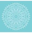 snowflake mandala vector image