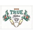 Tattoo Print 1 vector image