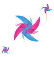 Pinwheel rotating icon vector image
