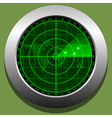 Radar screen vector image