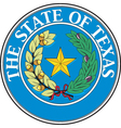 Texas vector image