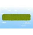Web Grass Element vector image