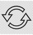 Sync Arrows Icon vector image