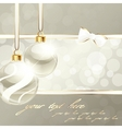 cream-colored banner vector image vector image