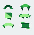badge green food design sticker fresh natural vector image