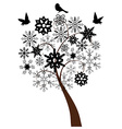 Snow Tree vector image
