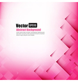 Abstract background light pink with basic geometry vector image