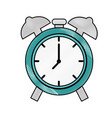 alarm clock isolated vector image