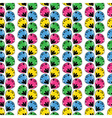 seamless abstract pattern with a multitude of elem vector image