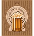 beer keg vector image vector image