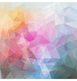 Abstract polygonal colourful background vector image