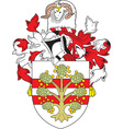 West Morland County vector image