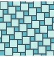 blue tiles seamless pattern vector image
