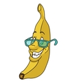 Fresh banana cartoon vector image