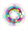 colorful abstract template vector image vector image