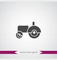 tractor icon simple vector image
