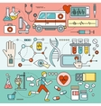 System Technology for Health Research vector image