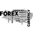 is the forex the market to trade your way to vector image
