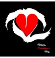 Swans loyalty and love vector image