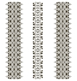 tribal seamless pattern vertical vector image