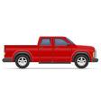 car pickup 07 vector image vector image