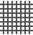 net of rope in black design vector image