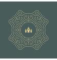 Ornament Decoration Ornate Frame Line Art vector image