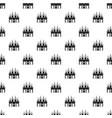 kingdom palace pattern vector image