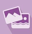 Picture Icon vector image vector image