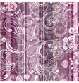pink and gray striped seamless pattern vector image vector image