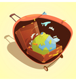 Travel Cartoon Concept vector image