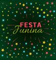 festa junina latin american holiday festival vector image