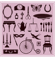 Vintage Objects and Icons vector image
