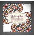 Business card background vector image
