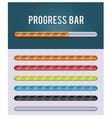 gloving progress bar vector image