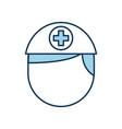 nurse avatar staff clinical people professional vector image