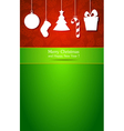 Christmas and New Year 4 vector image