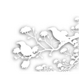 wild birds cutout vector image vector image