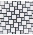 grey tiles seamless pattern vector image