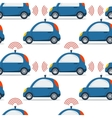 Self driving car isolated vector image vector image