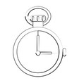 chronometer timer isolated vector image
