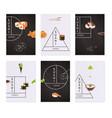 japanese sushi banner set vector image