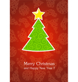 Christmas and New Year 5 vector image