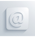 light square icon Eps10 vector image vector image