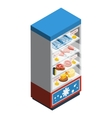 Food Collection Isometric vector image