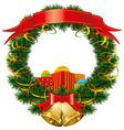 Christmas gifts vector image