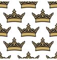 Royal heraldic seamless pattern vector image
