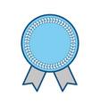 blank award ribbon vector image