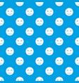 dead emotpattern seamless blue vector image