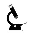 science microscope tool vector image